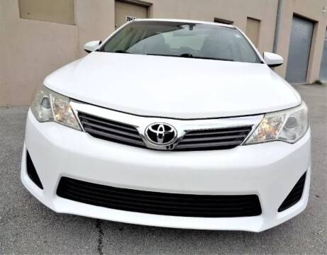 2014 Toyota Camry for sale at Selective Motor Cars in Miami FL