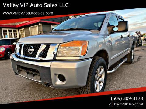 2008 Nissan Titan for sale at Valley VIP Auto Sales LLC in Spokane Valley WA