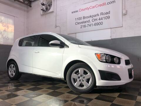 2016 Chevrolet Sonic for sale at County Car Credit in Cleveland OH