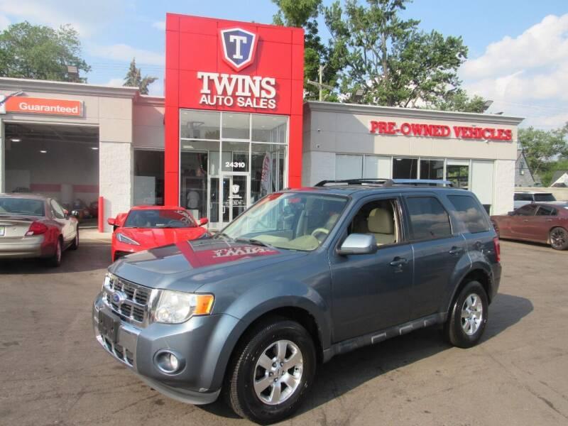 2012 Ford Escape for sale at Twins Auto Sales Inc in Detroit MI