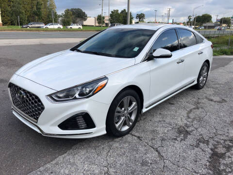 2018 Hyundai Sonata for sale at Reliable Motor Broker INC in Tampa FL