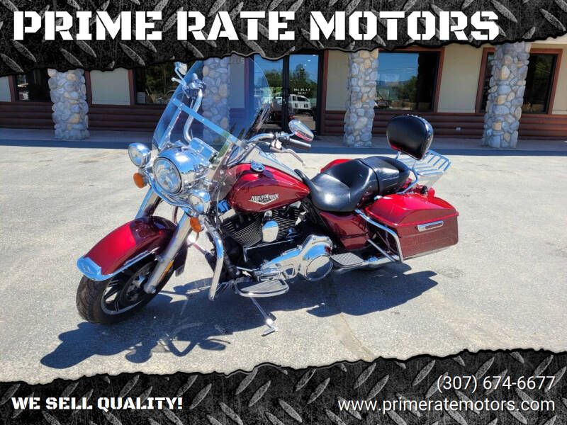 2016 Harley-Davidson Road King for sale at PRIME RATE MOTORS in Sheridan WY