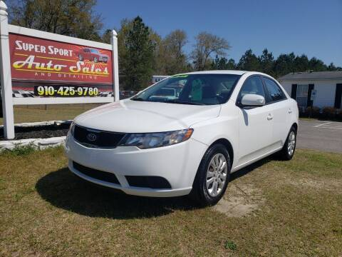 2010 Kia Forte for sale at Super Sport Auto Sales in Hope Mills NC