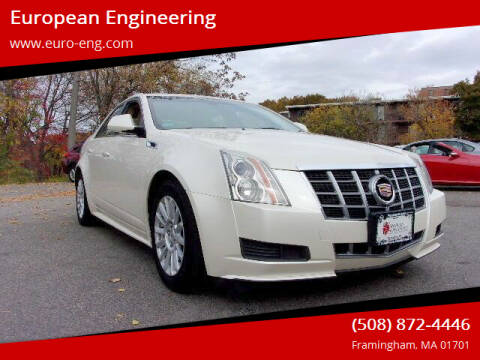 2012 Cadillac CTS for sale at European Engineering in Framingham MA