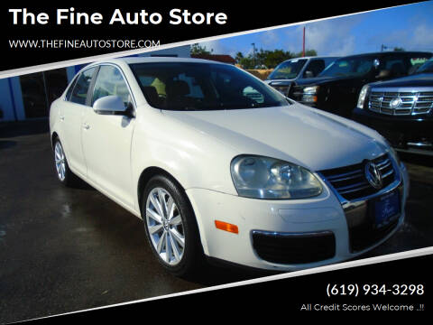 2008 Volkswagen Jetta for sale at The Fine Auto Store in Imperial Beach CA