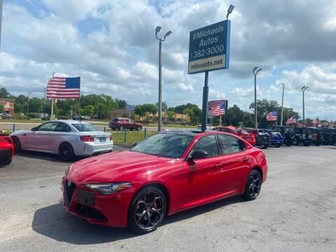 2019 Alfa Romeo Giulia for sale at Michaels Autos in Orlando FL