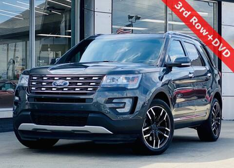 2017 Ford Explorer for sale at Carmel Motors in Indianapolis IN