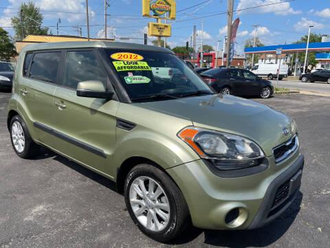 2012 Kia Soul for sale at Figueroa Auto Sales in Joliet IL
