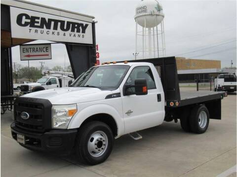 2011 Ford F-350 Super Duty for sale at CENTURY TRUCKS & VANS in Grand Prairie TX