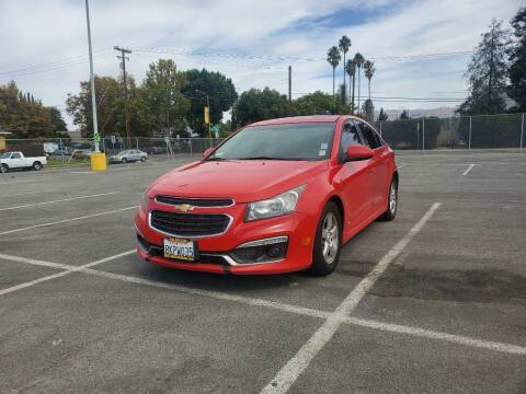 2015 Chevrolet Cruze for sale at ALL CREDIT AUTO SALES in San Jose CA
