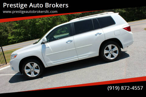 2010 Toyota Highlander for sale at Prestige Auto Brokers in Raleigh NC