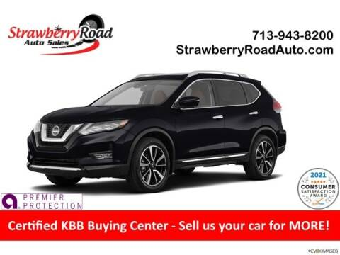 2018 Nissan Rogue for sale at Strawberry Road Auto Sales in Pasadena TX