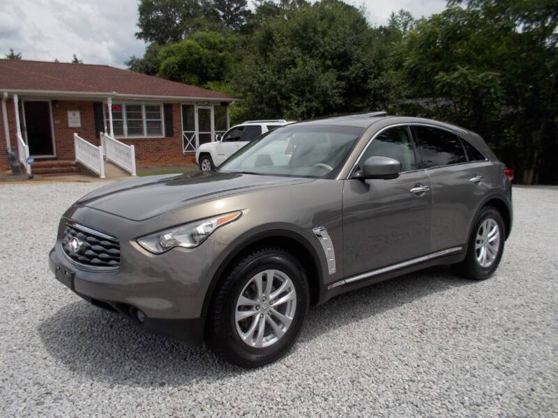 2011 Infiniti FX35 for sale at Carolina Auto Connection & Motorsports in Spartanburg SC