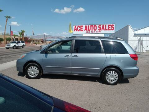 2004 Toyota Sienna for sale at ACE AUTO SALES in Lake Havasu City AZ