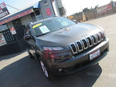 2014 Jeep Cherokee for sale at Quick Auto Sales in Modesto CA