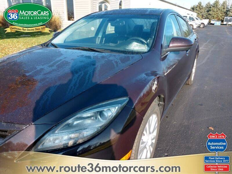 2010 Mazda MAZDA6 for sale at ROUTE 36 MOTORCARS in Dublin OH