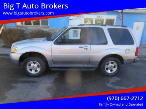 2003 Ford Explorer Sport for sale at Big T Auto Brokers in Loveland CO