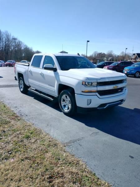 2017 Chevrolet Silverado 1500 for sale at McCully's Automotive - Trucks & SUV's in Benton KY