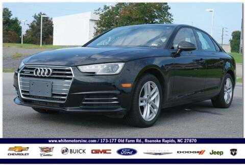 2017 Audi A4 for sale at WHITE MOTORS INC in Roanoke Rapids NC