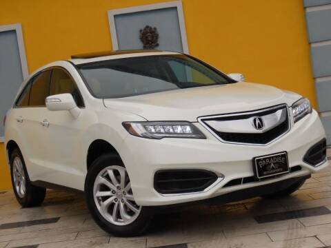 2018 Acura RDX for sale at Paradise Motor Sports LLC in Lexington KY