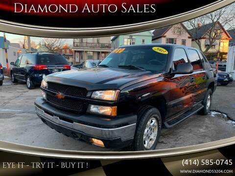 2003 Chevrolet Avalanche for sale at Diamond Auto Sales in Milwaukee WI