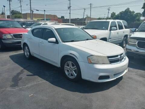 2012 Dodge Avenger for sale at Nice Auto Sales in Memphis TN