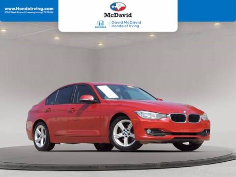 2014 BMW 3 Series for sale at DAVID McDAVID HONDA OF IRVING in Irving TX
