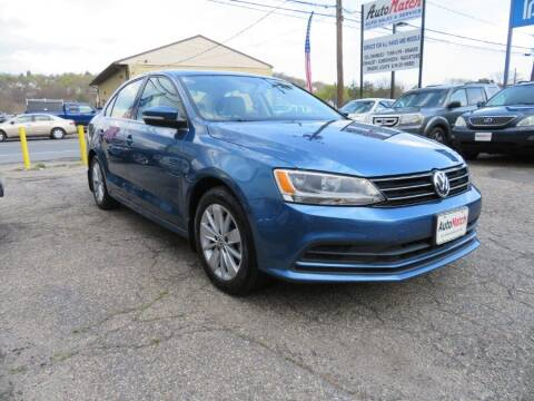 2016 Volkswagen Jetta for sale at Auto Match in Waterbury CT