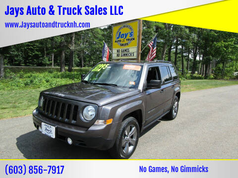 2015 Jeep Patriot for sale at Jays Auto & Truck Sales LLC in Loudon NH