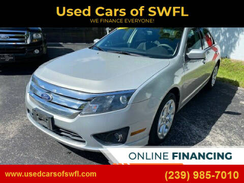 2010 Ford Fusion for sale at Used Cars of SWFL in Fort Myers FL