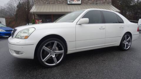 2003 Lexus LS 430 for sale at Driven Pre-Owned in Lenoir NC