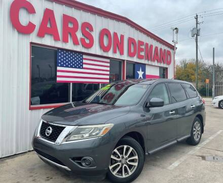 2014 Nissan Pathfinder for sale at Cars On Demand 3 in Pasadena TX
