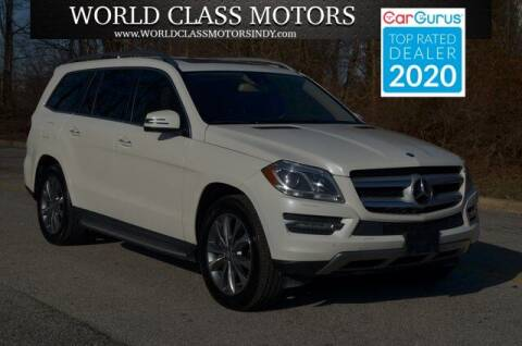 2014 Mercedes-Benz GL-Class for sale at World Class Motors LLC in Noblesville IN