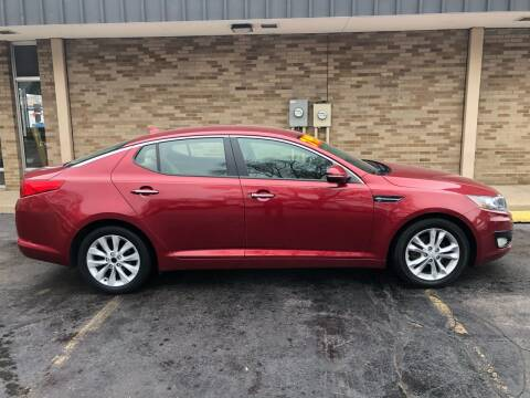 2013 Kia Optima for sale at Arandas Auto Sales in Milwaukee WI