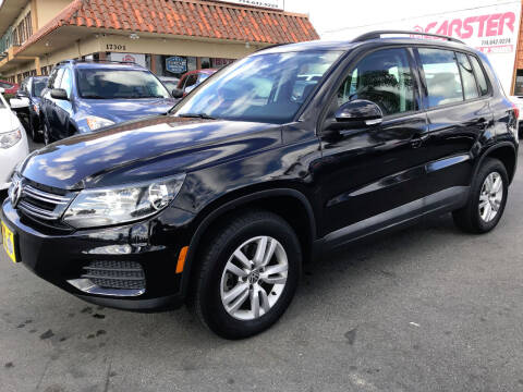2016 Volkswagen Tiguan for sale at CARSTER in Huntington Beach CA