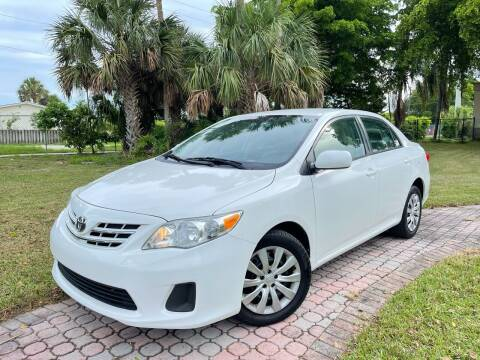 2013 Toyota Corolla for sale at Citywide Auto Group LLC in Pompano Beach FL