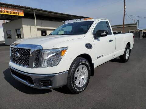 2017 Nissan Titan for sale at AZ WORK TRUCKS AND VANS in Mesa AZ