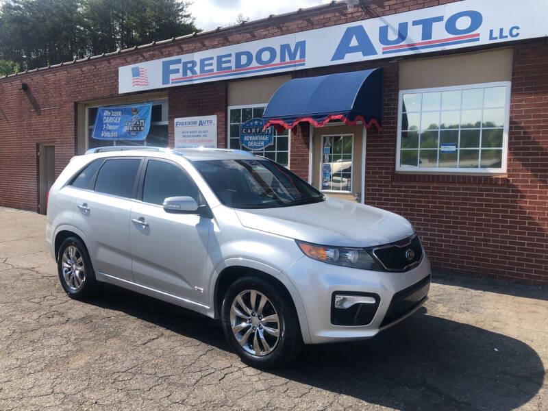 2013 Kia Sorento for sale at FREEDOM AUTO LLC in Wilkesboro NC
