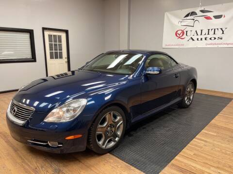 2006 Lexus SC 430 for sale at Quality Autos in Marietta GA
