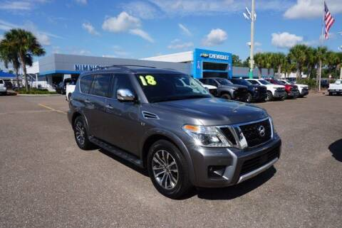 2018 Nissan Armada for sale at WinWithCraig.com in Jacksonville FL