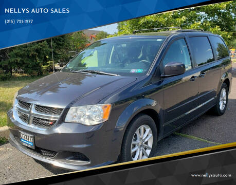 2014 Dodge Grand Caravan for sale at NELLYS AUTO SALES in Souderton PA
