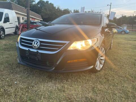 2012 Volkswagen CC for sale at Texas Select Autos LLC in Mckinney TX