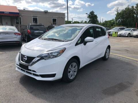 2017 Nissan Versa Note for sale at Saipan Auto Sales in Houston TX