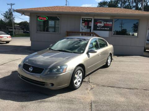 2006 Nissan Altima for sale at Big Red Auto Sales in Papillion NE