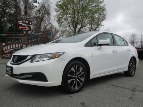 2015 Honda Civic for sale at Vigeants Auto Sales Inc in Lowell MA