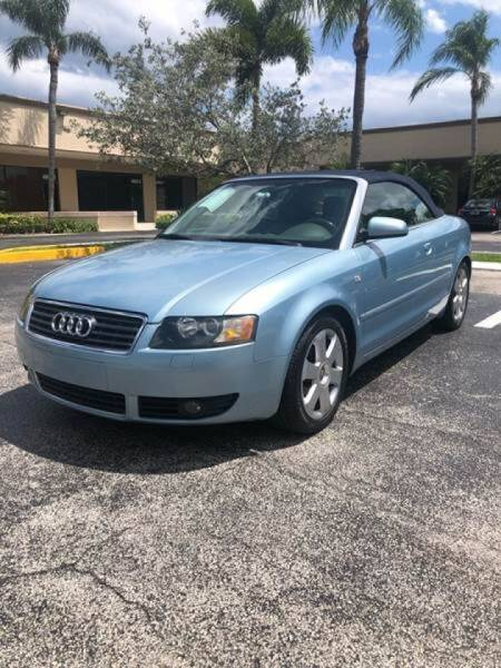 2005 Audi A4 for sale at GERMANY TECH in Boca Raton FL