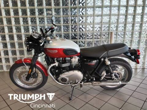 2020 Triumph Bonneville T100 Bud Ekins for sale at TRIUMPH CINCINNATI in Cincinnati OH
