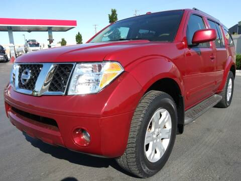 2006 Nissan Pathfinder for sale at AUTOMOTIVE SOLUTIONS in Salt Lake City UT