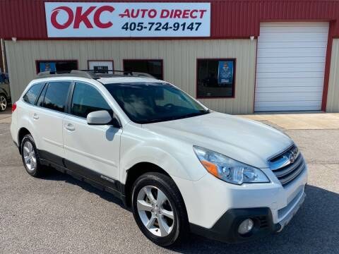 2013 Subaru Outback for sale at OKC Auto Direct in Oklahoma City OK