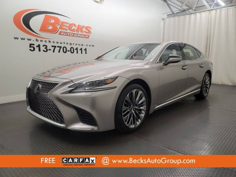 2018 Lexus LS 500 for sale at Becks Auto Group in Mason OH